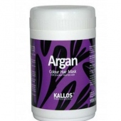 Kallos: Argan Colour Hair Mask - maska na vlasy 1000ml (žena)