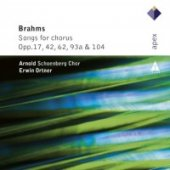 Brahms: Songs For Chorus