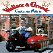dvd obaly Wallace a Gromit: Cesta na M�s�c