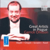Great Artists in Prague - Ohlsson Garrick - piano