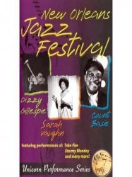 New Orleans Jazz Festival 1969/ Sarah Vaughn, Count Basie And More