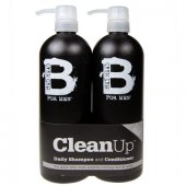 Tigi: Bed Head Men Clean Up Duo Kit - kolekce 750ml (muž)