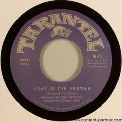 7-Love is the Answer [12in]