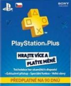 Sony Playstation Plus Card (90 dní) (PS4/PS3/PSP/PSVita)