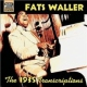 Waller, Fats 1935 Transcriptions