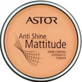 Astor: Anti Shine Mattitude Powder  /001/ - make-up 14g (žena)