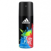 Adidas: Team Five - deosprej 150ml (muž)