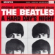 Beatles A Hard Day´s Night -us Version-
