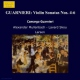 Guarnier, C. Sonatas For Violin 4/5/6
