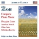 Adams, John Piano Music