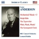 Anderson Orchestral Works Vol.3