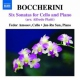 Boccherini, L. 6 Sonatas For Cello & Pia