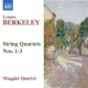 Berkeley, L+m. String Quartets No.1-3