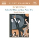 Bolling, Claude Suites For Flute & Jazz P