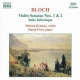 Bloch, E. Violin Sonatas No.1&2