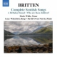 Britten, Benjamin A Birthday Hensel/Who Are