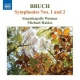 Bruch, M. Symphony No.1 & 2