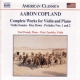 Copland, A.:old American Songs/ Complete Works For Violin