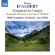 D�albert, E. Symphony In F Major