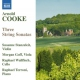 Cooke, A. Three String Sonatas