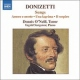 Donizetti, G. CD Songs