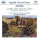 Finzi, G. English Choral Music
