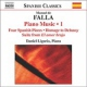 Falla, M. De Piano Works Vol.1