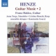 Henze, H.w. Guitar Works 2