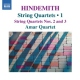 Hindemith, P. String Quartets Vol.1
