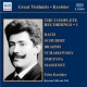 Kreisler, Fritz Complete Recordings Vol.1