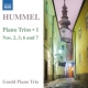 Hummel, J.n. CD Piano Trios 1