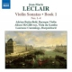 Leclair, J.m. Violin Sonatas Book 1