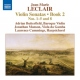 Leclair, J.m. Violin Sonatas Book 2