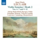 Leclair, J.m. Violin Sonatas Book 2 No.