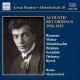 Moiseiwitsch, Benno Acoustic Recordings 1916-