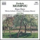 Mompou, F. Piano Music Vol.4