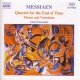 Messiaen, Oliver Quartet For the End of Ti