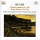 Reger, M. CD Clarinet Quintet In A