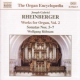 Rheinberger, J.g. Organ Works Vol.2