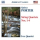 Porter, Cole String Quartets No.1-4