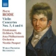 Rode, P. Violin Concertos No.3,4 &