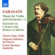 Sarasate, P. Music For Violin & Orches