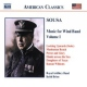 John Philip Sousa CD Music For Wind Band 1