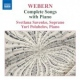 Webern, A. Complete Songs