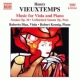 Vieuxtemps, H. Music For Viola & Piano