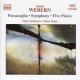 Webern, A. Orchestral Music