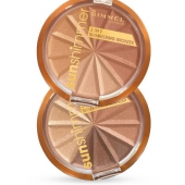 Rimmel London: Sun Shimmer 3in1 Shimmering Bronzer  /002 Bronze Goddess/ - make-up 9,9g (žena)