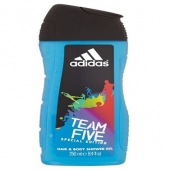 Adidas: Team Five - sprchový gel 400ml (muž)