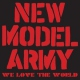 New Model Army We Love the World-Cd+Dvd-