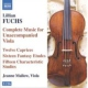 Fuchs, Renate Music For Unaccomp. Viola